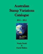 Australian Stamp Variations Catalogue 2011 - 2015 - Reference photo book