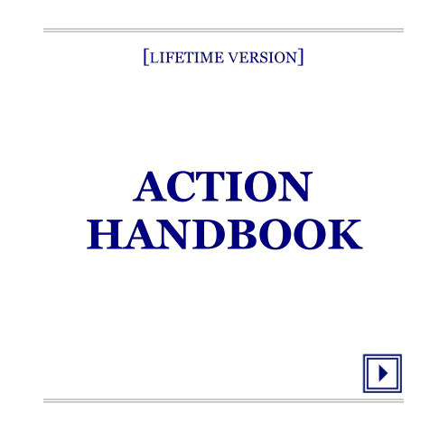 Bekijk ACTION HANDBOOK [Lifetime Version] op Julius Pullman