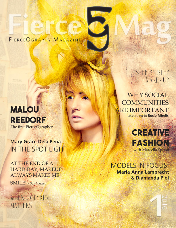 View FierceOmag Issue1 by FierceOgraphy