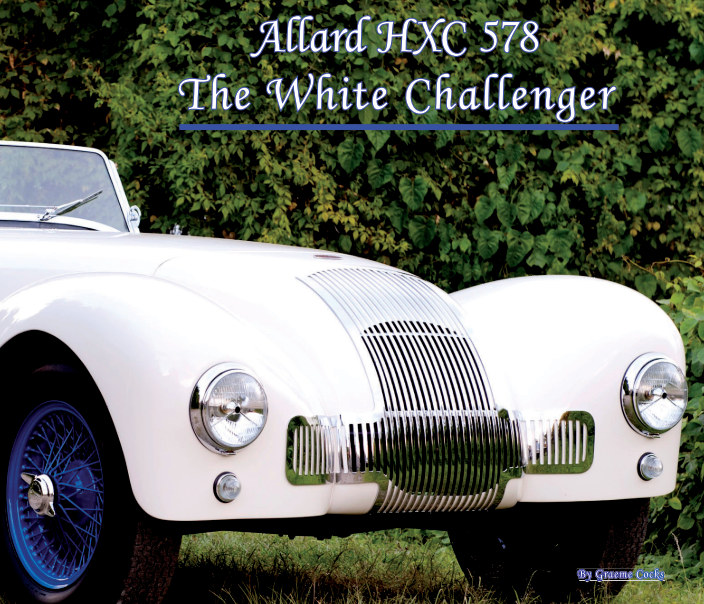 View Allard HXC 578 The White Challenger by Graeme Cocks