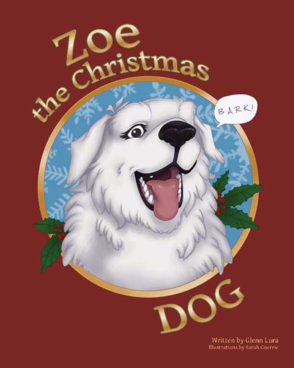 View Zoe the Christmas Dog by Glenn Lura
