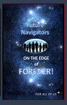 Future Navigators on the Edge of Forever book cover