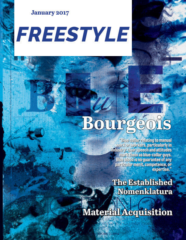View Freestyle Magazine 04: Blue Edition by BriAnna Rosen