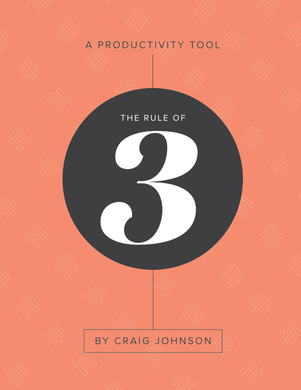 View The Rule of Three – Monthly Workbook by Craig Johnson