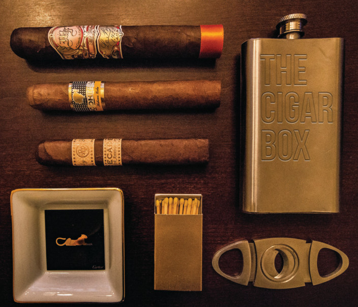 View The Cigar Box by Alex Makki