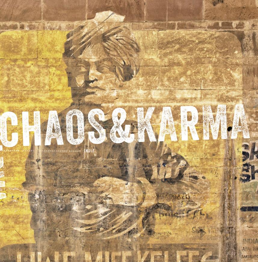 View india | chaos & karma #1 by leon bouwman