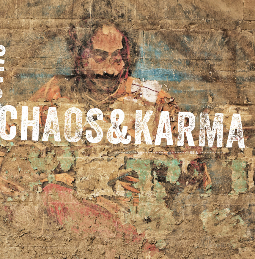 View india | chaos & karma #2 by leon bouwman