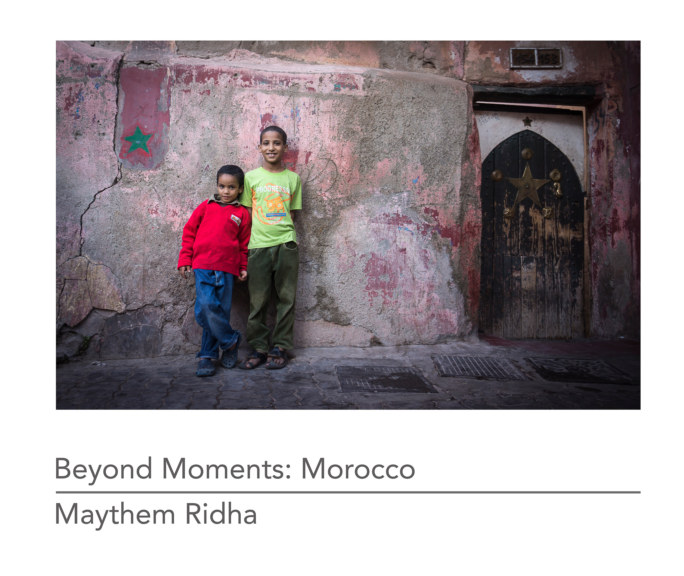 View Beyond Moments: Morocco (Softcover) by Maythem Ridha