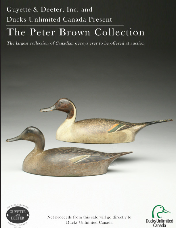 View The Peter Brown Decoy Collection by Guyette & Deeter, Inc.