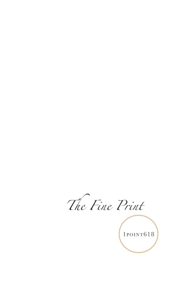 Ver The Fine Print por Publications Committee
