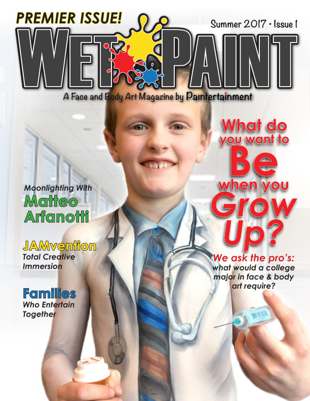 View Wet Paint Magazine Issue #1 - Summer 2017 by Paintertainment