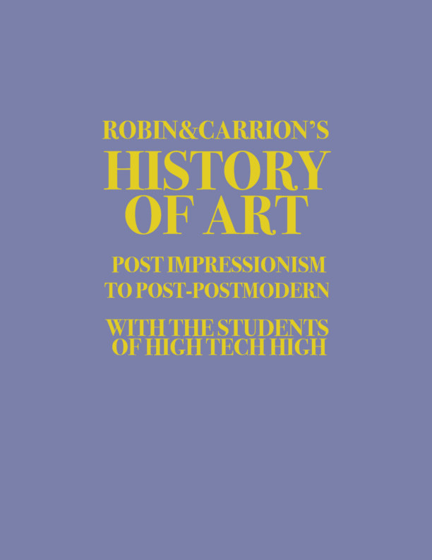 View History of Art by Robin & Carrion