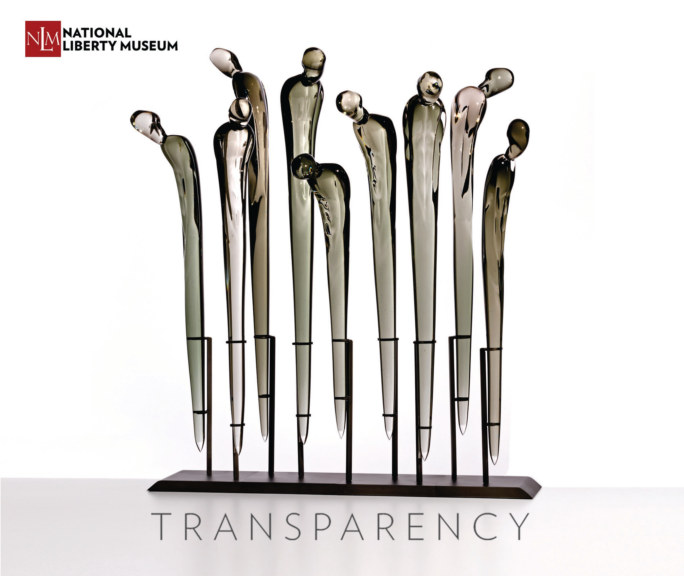 View Transparency - LGBTQ Glass Art Show Case by National Liberty Museum
