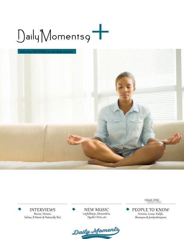 View DailyMoments9 Magazine Issue 1 by DailyMoments9