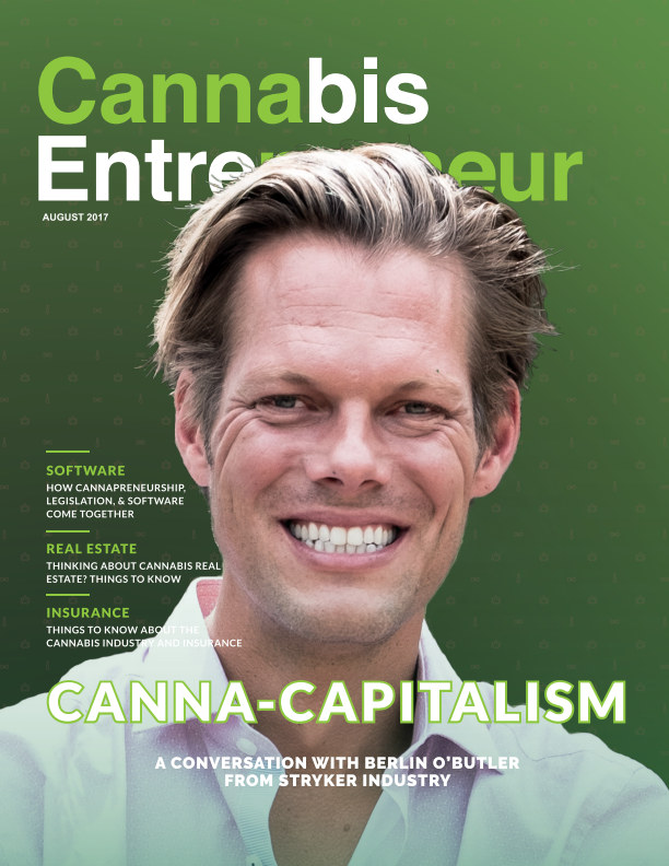 Bekijk August Issue 2017 - Cannabis Entrepreneur Magazine op Cannabis Entrepreneur Magazine