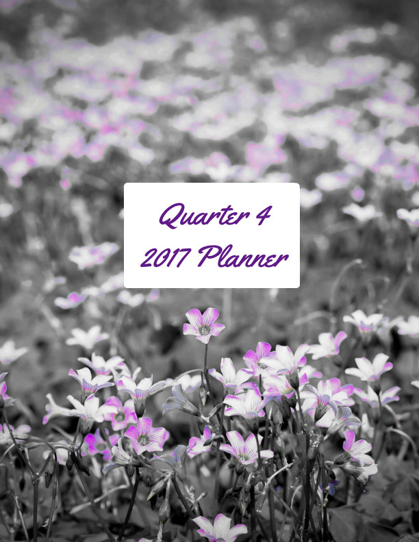 View Quarter 4 2017 Planner by Nisha