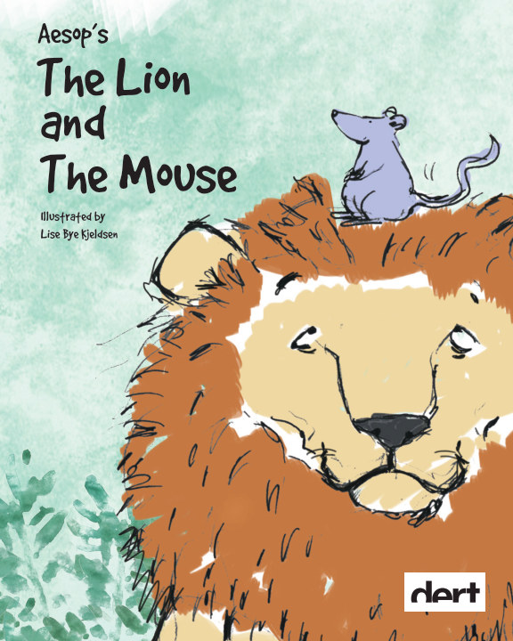 View The Lion and The Mouse by Lise Bye Kjeldsen
