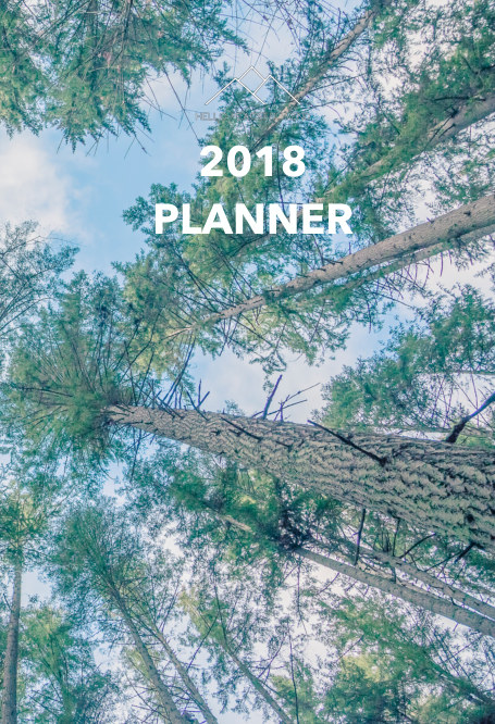 View 2018 Hello Peaceful Mind Planner by Julie Voss