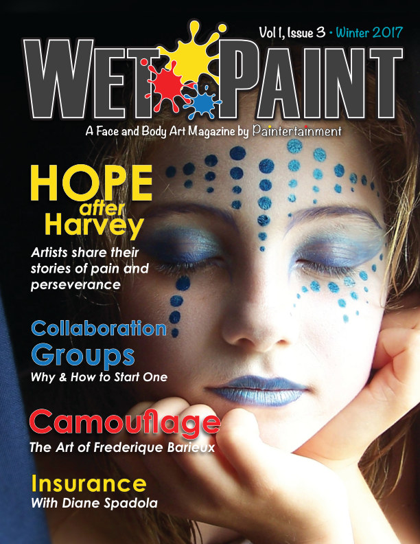 View Wet Paint Magazine VOL 1, Issue #3 - Winter 2017 by Paintertainment