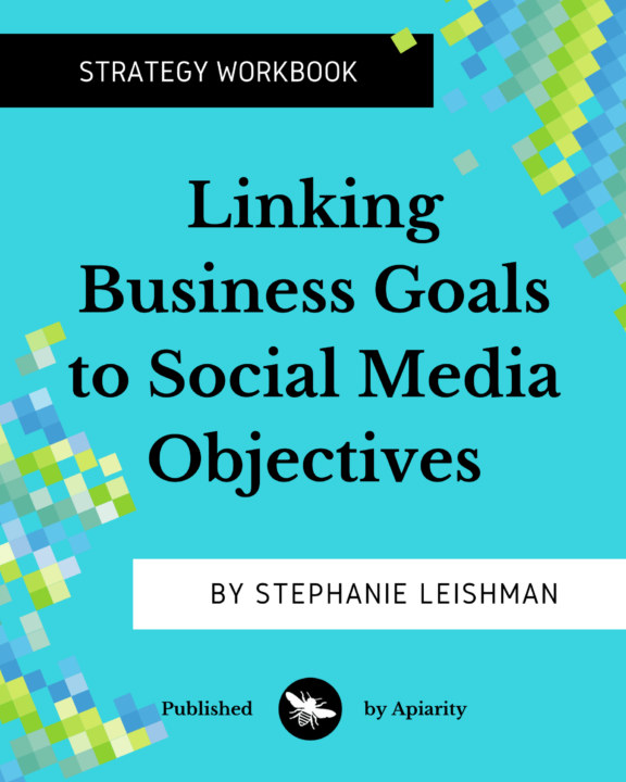 Bekijk Linking Business Goals to Social Media Objectives op Stephanie Leishman