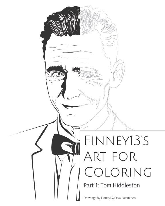 View Finney13's Art for Coloring Part 1: Tom Hiddleston by Eeva Lamminen