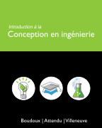 Introduction à la conception en ingénierie book cover