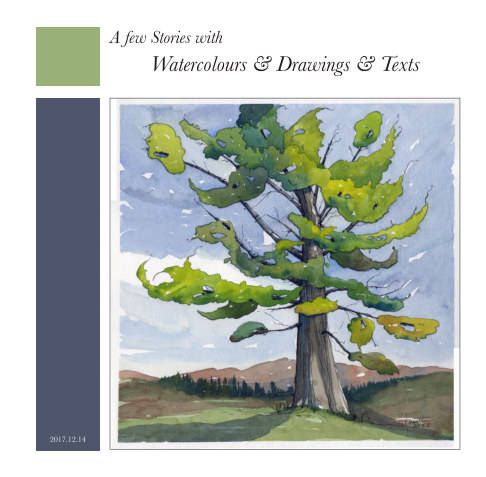 View A few Stories with Watercolours & Drawings & Texts by Jane Hannah