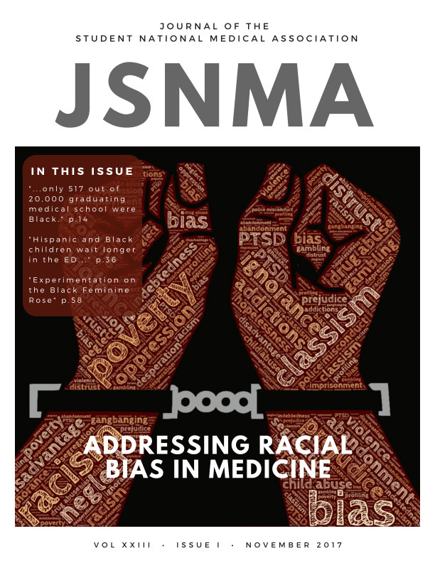View JSNMA Fall 2017 Volume 23, Issue 1 by SNMA Publications