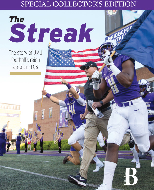 View The Streak (hardcover) by The Breeze Sports Staff