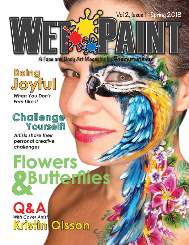 View Wet Paint Magazine - Vol 2 Issue 1 -  - Spring 2018 by Paintertainment, LLC