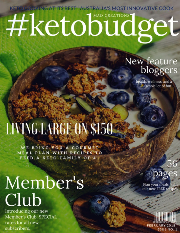 View #ketobudget Living Large on $150 by MEGAN ELLAM