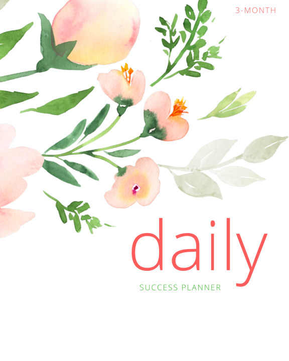 View Daily Success Planner: WATERCOLOR by Dana-Lynn Rodrigues