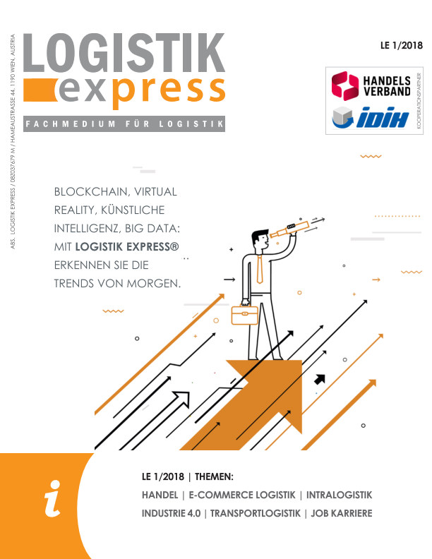 View LOGISTIK express Ausgabe 1/2018 by LOGISTIK express