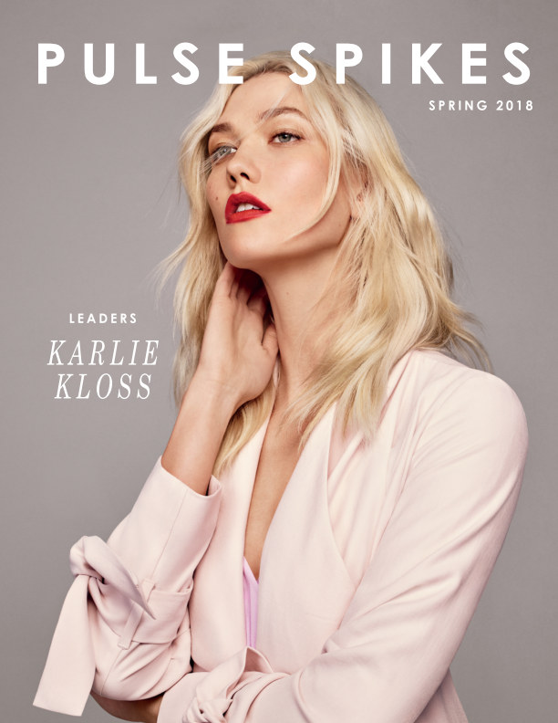 """View """"Leaders"""" - Spring 2018 - Karlie Kloss by Pulse Spikes"""