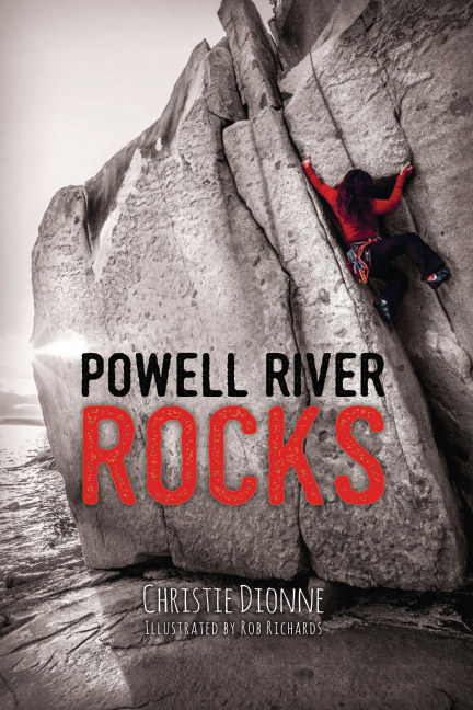 View Powell River Rocks by Christie Dionne