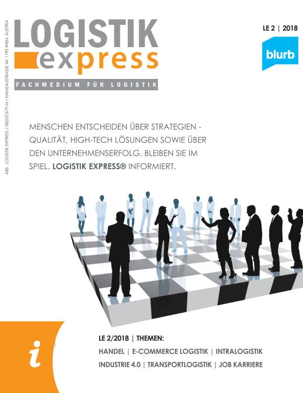 View LOGISTIK express Ausgabe 2/2018 by Markus Jaklitsch