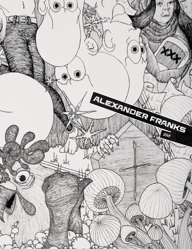 View A collection of drawings by Alexander Franks 2018 by Alexander Franks