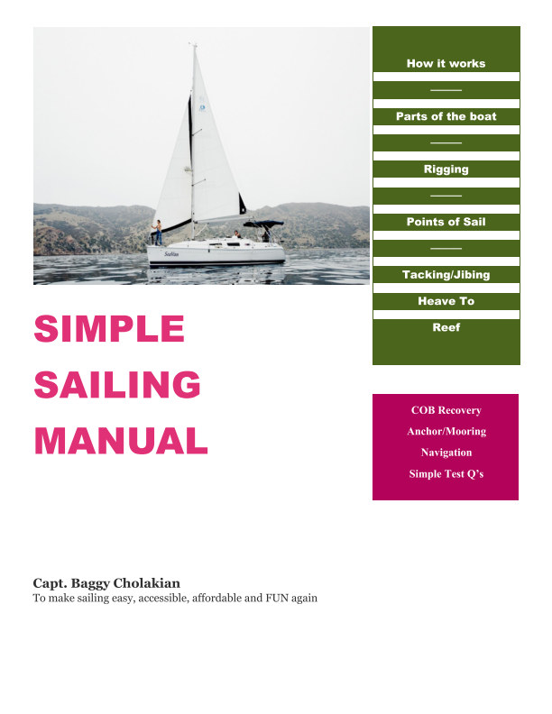 View Simple Sailing Manual by Capt. Baggy