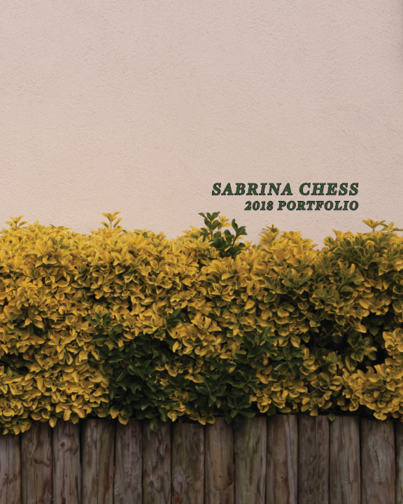 View Sabrina Chess Portfolio by Sabrina Chess