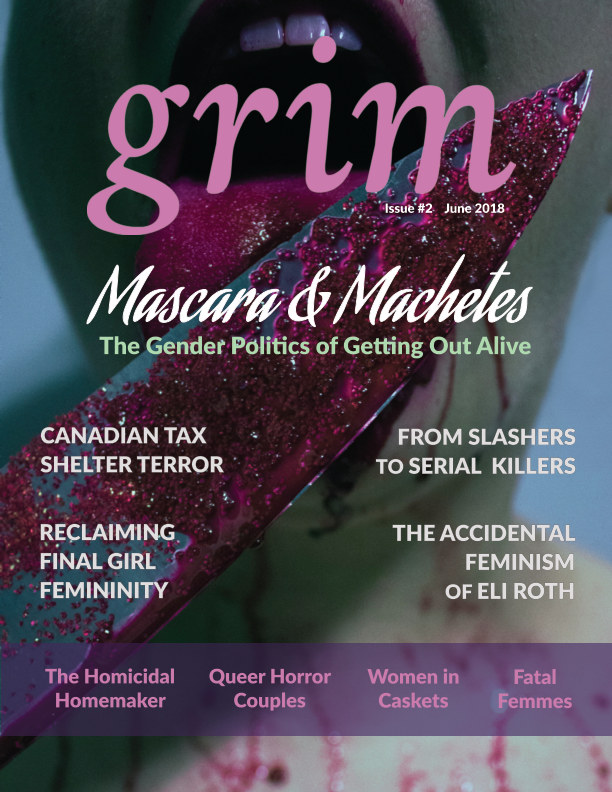 View Grim No. 2 - Mascara and Machetes by Anatomy of a Scream