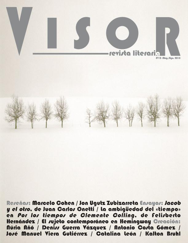 Ver Revista Literaria Visor - nº 12 por Revista Literaria Visor