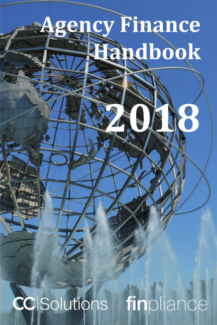View The CC Solutions / Finpliance Agency Finance Handbook 2018 by CC Solutions / Finpliance