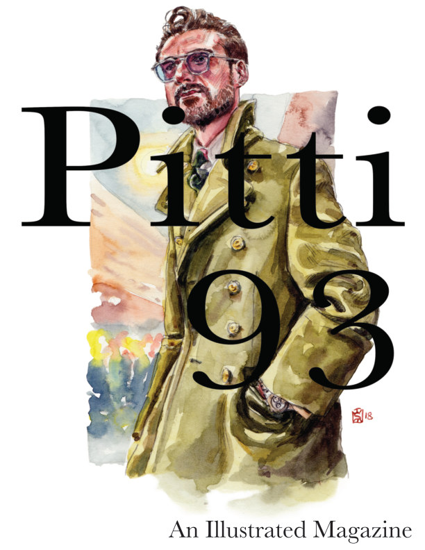 View Pitti 93, An Illustrated Magazine by Sunflowerman