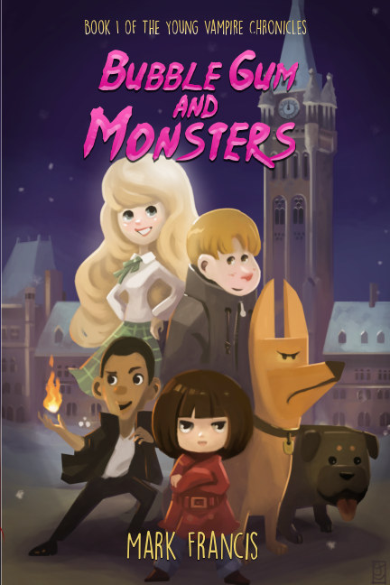 View Bubble Gum and Monsters (softcover) by Mark Francis