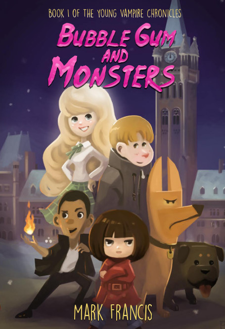 View Bubble Gum and Monsters (hardcover) by Mark Francis
