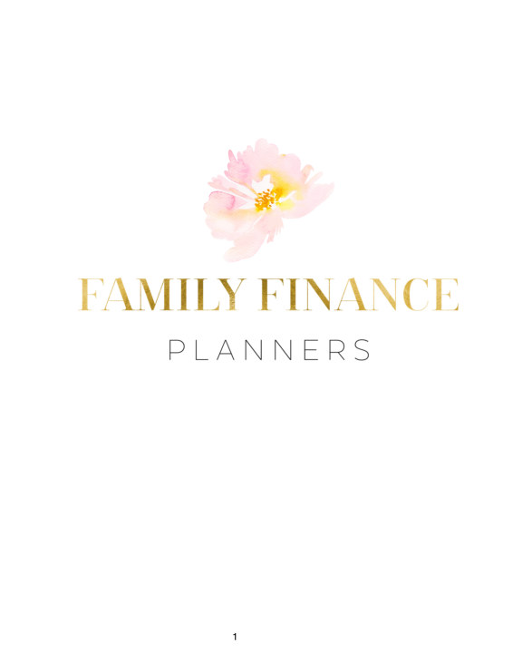 View Family Finance Planner - Level 3 by Victoria Smith