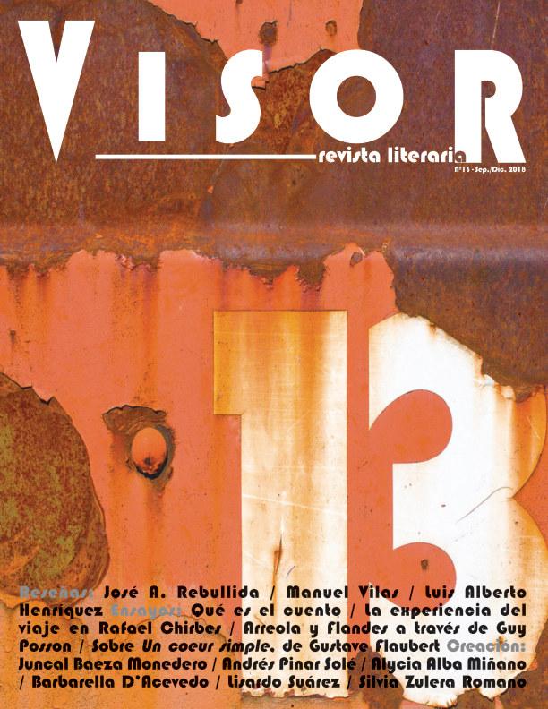 Ver Revista Literaria Visor - nº 13 por Revista Literaria Visor