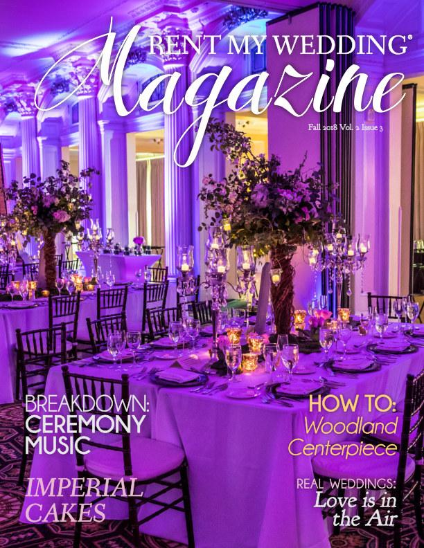Rent My Wedding   Rent My Wedding Magazine Fall 2018 By Rent My Wedding Blurb Books