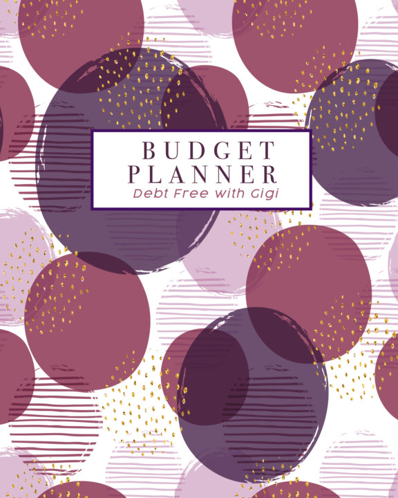 debt free with gigi budget planner by gigi fisher blurb books canada