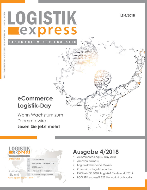 View LOGISTIK express Ausgabe 4/2018 by LOGISTIK express